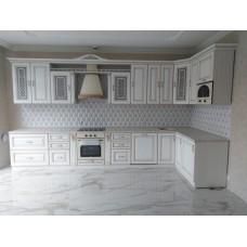 """Кухня с патинированными фасадами """"Классика - 30"""""""