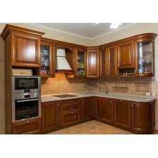 """Кухня из массива дерева """"Тициано - 2"""""""