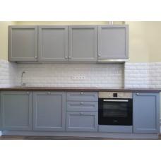 """Кухня с крашеными фасадами МДФ """"Иллария"""""""