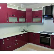 """Кухня с крашеными фасадами """"Аделина"""""""