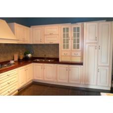 """Кухня с крашеными фасадами МДФ """"Беатриса"""""""