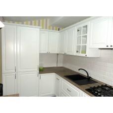 "Кухня с крашеными фасадами МДФ ""Розалия"""