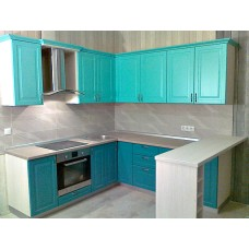 """Кухня с крашеными фасадами МДФ """"Юлианна"""""""