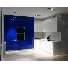 """Кухня с крашеными фасадами МДФ """"Алевтина"""""""