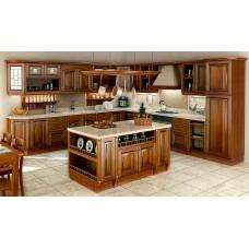 """Кухня из массива дерева """"Леонардо - 2"""""""