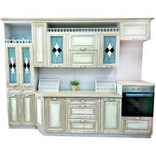 """Кухня с патинированными фасадами """"Классика - 10"""""""