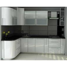"Кухня с крашеными фасадами МДФ ""Лара"""
