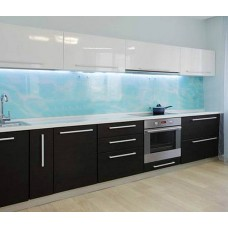 "Кухня с крашеными фасадами ""Хлоя"""