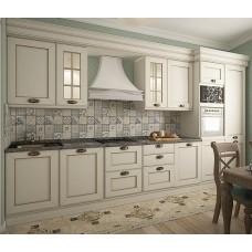 """Кухня с крашеными фасадами МДФ """"Илона"""""""