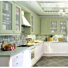 """Кухня с крашеными фасадами МДФ """"Марта"""""""
