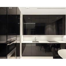 """Кухня с крашеными фасадами МДФ """"Селена"""""""
