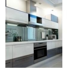 """Кухня с крашеными фасадами """"Эсмеральда"""""""