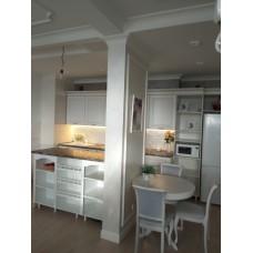 """Кухня с патинированными фасадами """"Классика - 8"""""""