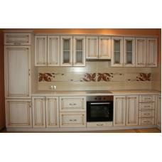 """Кухня с патинированными фасадами """"Классика - 9"""""""