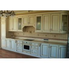 """Кухня с патинированными фасадами """"Классика - 29"""""""