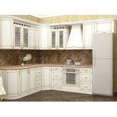 """Кухня с патинированными фасадами """"Классика - 4"""""""