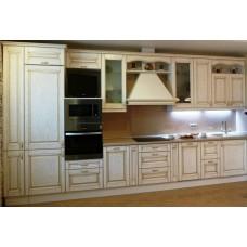 """Кухня с патинированными фасадами """"Классика - 24"""""""