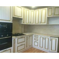 """Кухня с патинированными фасадами """"Классика - 12"""""""