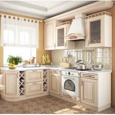 """Кухня с патинированными фасадами """"Классика - 27"""""""