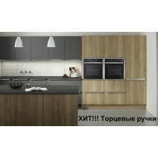 Кухня с пленочными фасадами МДФ