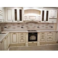 """Кухня с патинированными фасадами """"Классика - 15"""""""