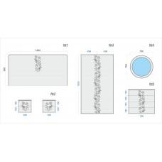 Комплект фасадов для спальни №1