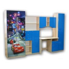 """Мебель для детской комнаты """"Тачки"""""""