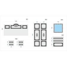 Комплект фасадов для спальни №5