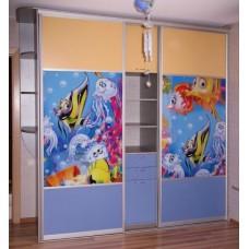 """Мебель для детской комнаты """"Подводный мир"""""""