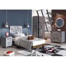 """Мебель для детской комнаты """"Роботы"""""""