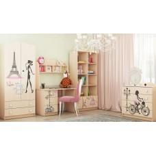 """Мебель для детской комнаты """"Париж"""""""