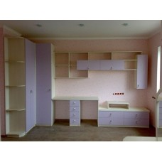 """Мебель для детской комнаты """"Сирень"""""""